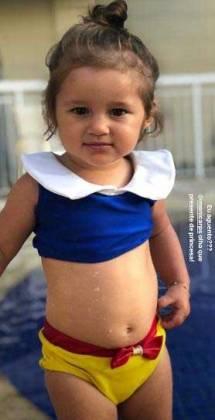 Madalena, filha de Yanna Lavigne - Reprodução/Instagram