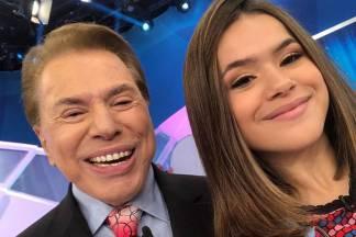 Maisa Silva e Silvio Santos - Reprodução: Instagram