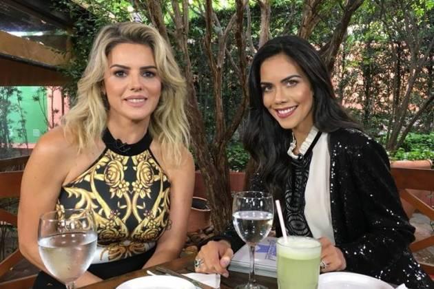Mari Alexandre e Dani Albuquerque(Divulgação/RedeTV!)