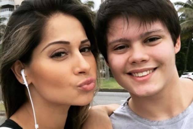 Mayra Cardi e Lucas - Reprodução/Instagram