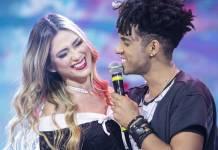 Nadja e DBlack (Edu Moraes/Record TV)
