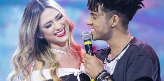 Nadja e DBlack (Edu Moraes/Record TV)