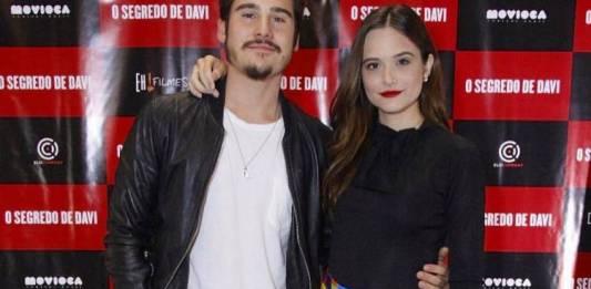 Nicolas Ptrattes e Juliana Paiva