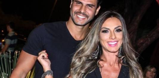 Nicole Bahls e Marcelo Bimbi (Foto: reprodução Instagram)