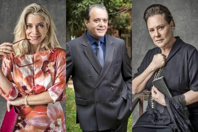 O Sétimo Guardião - Marilda - Olavo - Mirtes (Globo/João Cotta)