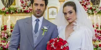 O Tempo Não Para - Emilio e Marocas (Globo/Paulo Belote)