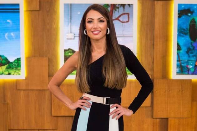Patricia Poeta -Reprodução/Rede Globo