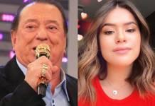 Raul Gil e Maisa Silva - Reprodução/SBT/Instagram