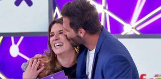 Rebeca Abravanel e Henri Castelli/(Reprodução/SBT/Twitter)
