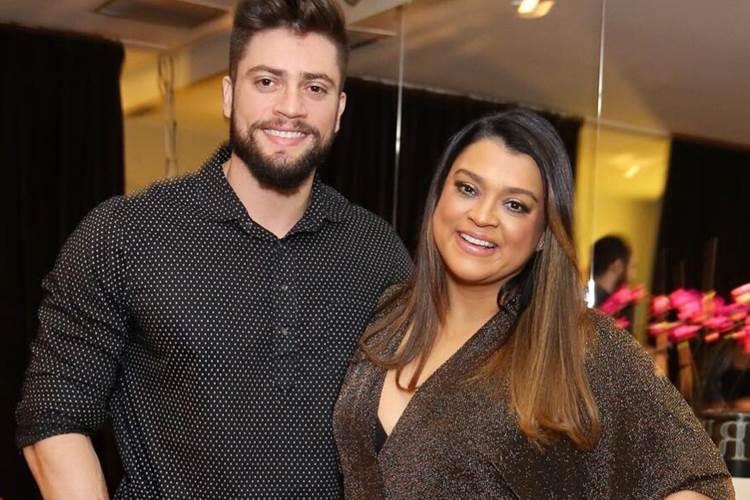 Rodrigo Godoy posta foto sem camisa e recebe elogio da mulher Preta Gil