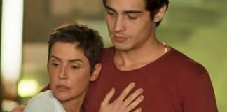 Segundo Sol - Karola e Valentim (Reprodução/TV Globo)