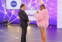 Silvio Santos e Claudia Leitte - Reprodução/SBT