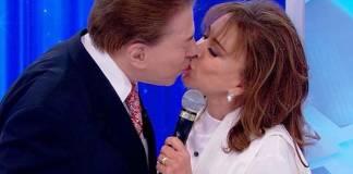 Silvio Santos e Iris Abravanel - Reprodução/SBT