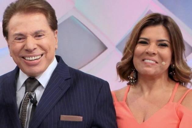 Silvio Santos e Mara Maravilha - Divulgação