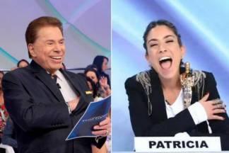 Silvio Santos e Patrícia Abravanel - Reprodução/SBT