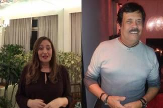 Sonia Abrão e Carlinhos Aguiar / Reprodução: Instagram