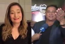 Sonia Abrão e Leonardo - Reprodução/Instagram