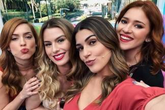 Sophia, Fernanda, Vivian e Ana Clara / Instagram
