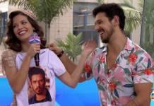 Vitória Strada e João Vicente de Castro - Reprodução/TV Globo