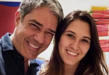 William Bonner e Beatriz Bonemer