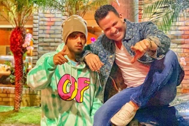 Zé Felipe e Eduardo Costa/Instagram