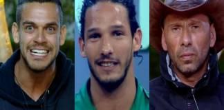 Caique Aguiar, João Zoli e Rafael Ilha - Montagem/Área VIP