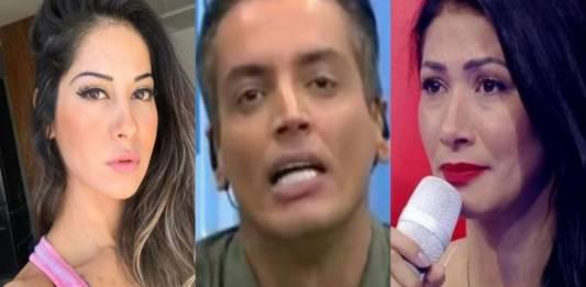 Mayra Cardi, Léo Dias e Simaria - Montagem/Área VIP