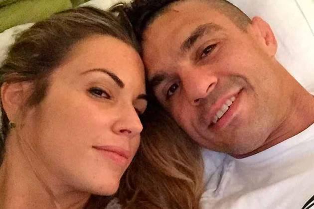Vitor Belfort e Joana Prado - Reprodução/Instagram