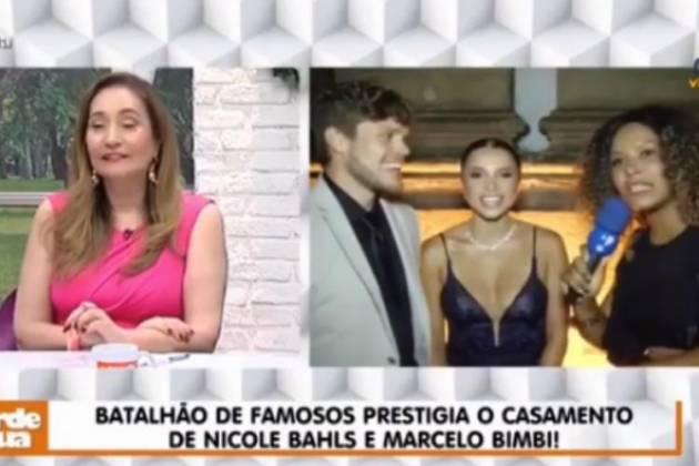 """Sonia Abrão no """"A Tarde é Sua"""" - Reprodução/RedeTV!"""