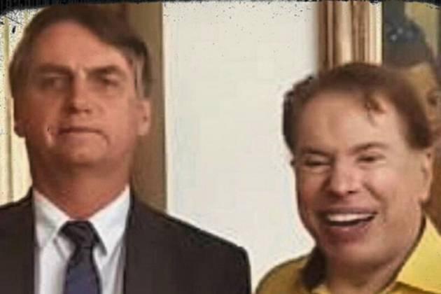 Jair Bolsonaro e Silvio Santos - Reprodução/Instagram