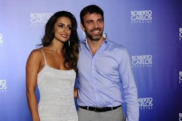 Camila Lucciola e Marcelo Faria (Globo / Estevam Avelar)