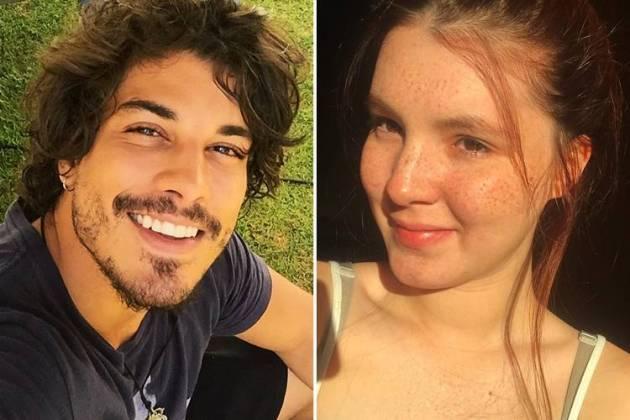 Doulgas Sampaio e Jeniffer Oliveira/Instagram