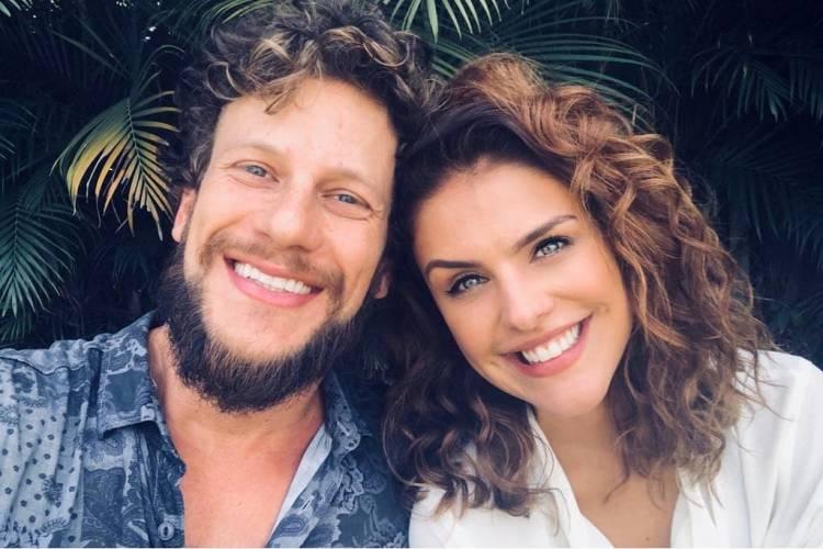 Assumiram! Paloma Bernardi e Dudu Pelizzari estão namorando