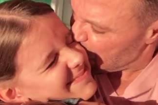 Eduardo Costa com a filha Duda Costa/Instagram