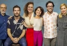 Elenco das séries - 10 Segundos para Vencer e Elis Viver é Melhor que Sonhar (Globo/João Cotta)