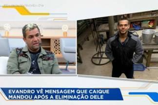 Evandro e Caique Aguiar - Reprodução/Record TV