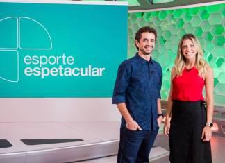Felipe Andreoli e Barbara Coelho (Globo/ João Cotta)