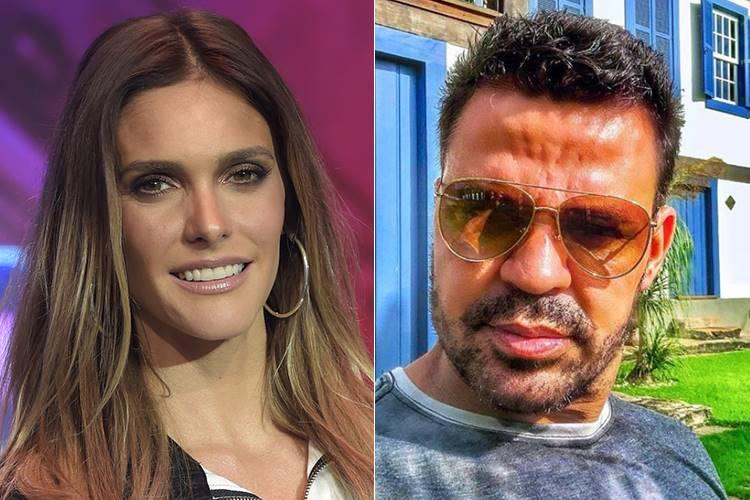 Fernanda Lima e Eduardo Costa (Reprodução/TV Globo/Instagram)