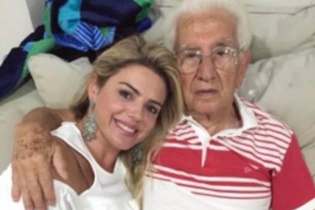 Mari Alexandre e o pai - Reprodução/Instagram
