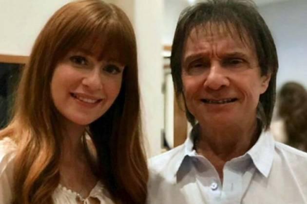 Marina Ruy Barbosa e Roberto Carlos - Reprodução/Instagram