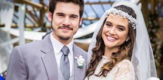 O Tempo Não Para - Samuca e Marocas se casam (Globo/João Miguel Júnior)