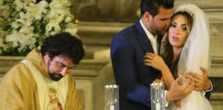 Padre Fábio de Melo, Nicole Bahls e Marcelo Bimbi - Reprodução/Instagram