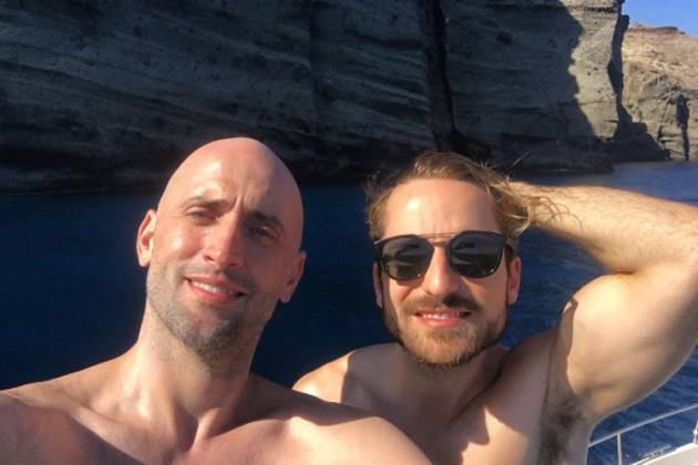 Paulo Gustavo e marido, Thales Bretas ( Reprodução/Instagram)