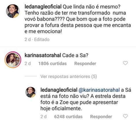 Post - Leda Nagle/Instagram