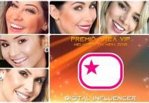 Prêmio Área VIP 2018 - Digital Influencer