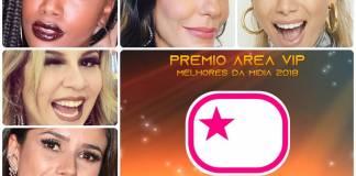 Prêmio Área VIP 2018 - Melhor Cantora