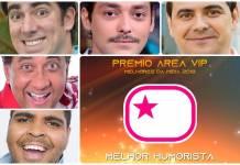 Prêmio Área VIP 2018 - Melhor Humorista
