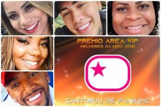 vPrêmio Área VIP 2018 - Melhor MC