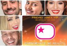 Prêmio Área VIP 2018 - Melhor Participante de Reality