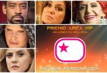 Prêmio Área VIP 2018 - Melhor Personagem